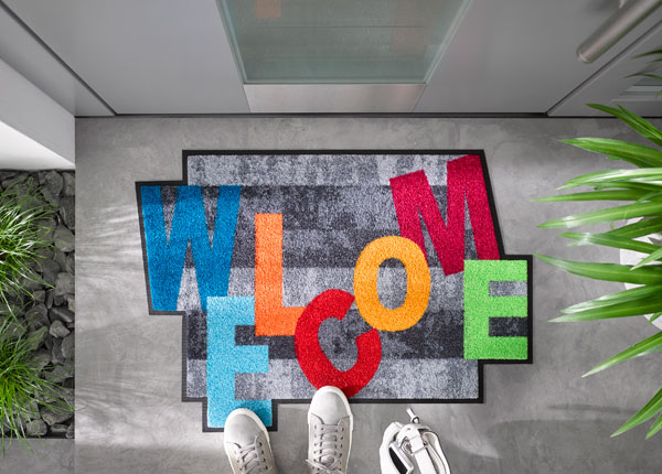 Ovimatto CRAZY WELCOME 75x120 cm A5-128139