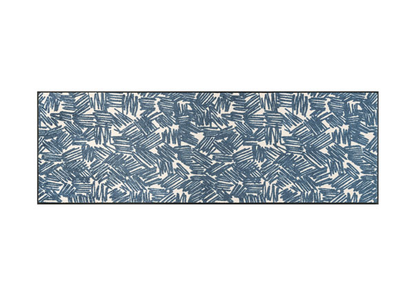 Matto URBAN LINES BLUE 60x180 cm A5-128254
