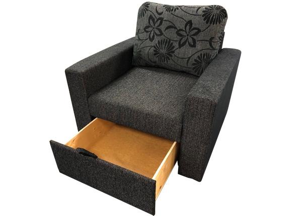 Nojatuoli vuodevaatelaatikolla NORA TP-128260