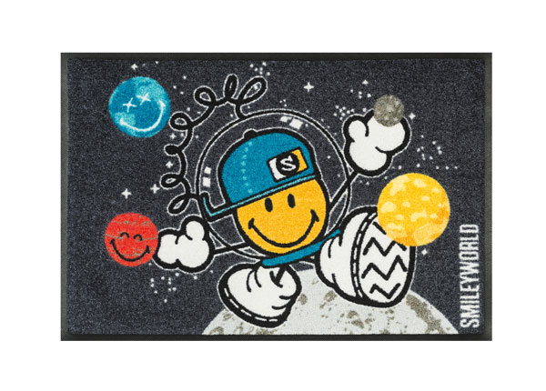Matto SMILEY SPACE EXPLORER 50x75 cm A5-128287