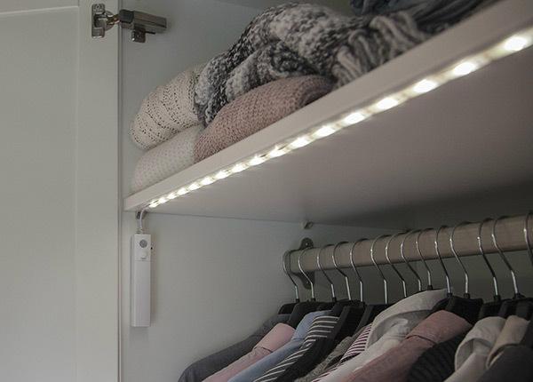 LED valoketju sensorilla / yövalaisin AA-128749