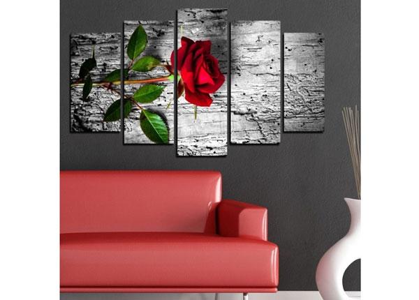 Viisiosainen seinätaulu ROMANTIC 100x60 cm ED-129154
