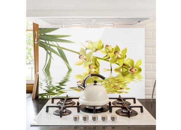 Kuvalasi/ välitilan lasi ELEGANT ORCHID WATERS 40x60 cm