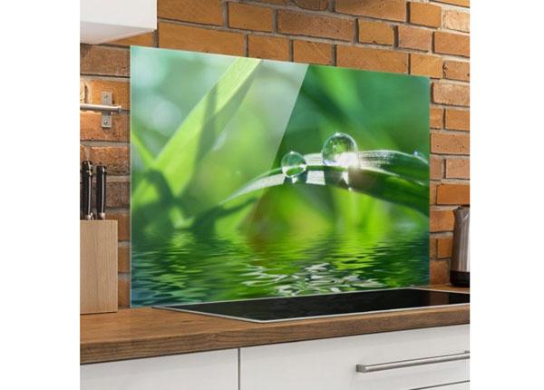 Kuvalasi/ välitilan lasi GREEN AMBIANCE II, 40x60 cm