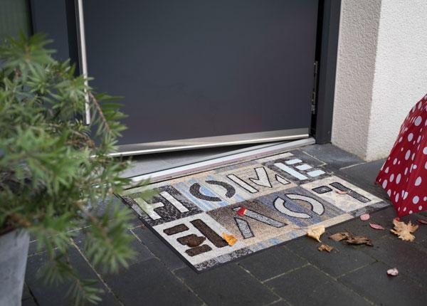 Matto LOVE HOME SQUARES 50x75 cm A5-129623