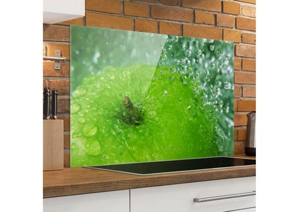 Kuvalasi/ välitilan lasi GREEN APPLE 40x60 cm