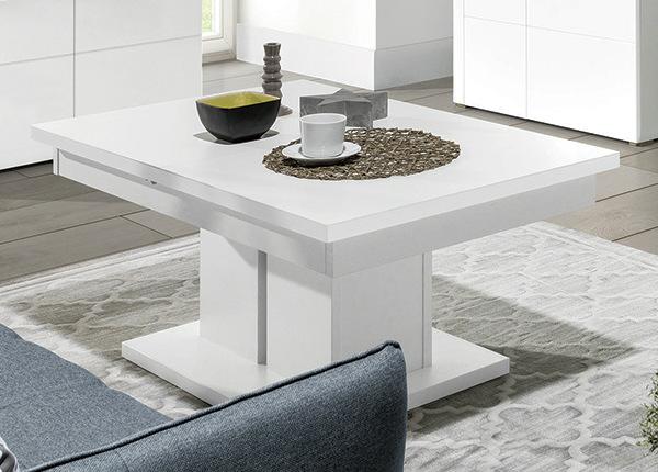 Jatkettava ruokapöytä 114-144x52 cm TF-129966