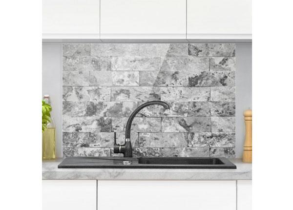Kuvalasi/ välitilan lasi STONE WALL NATURAL MARBLE GREY 40x60 cm