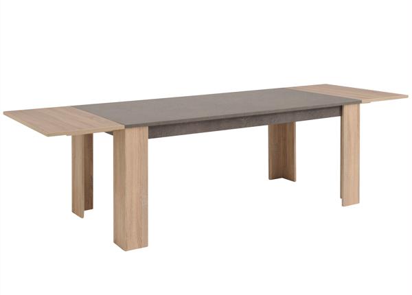 Jatkettava ruokapöytä FUMAY 180-270x88 cm MA-130279