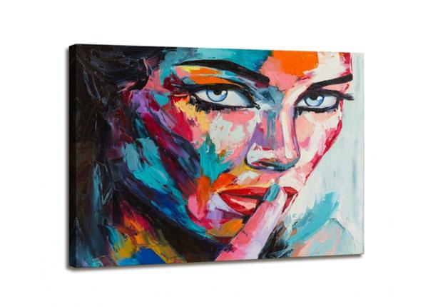 Seinätaulu WOMAN FACE 60x80 cm ED-130571