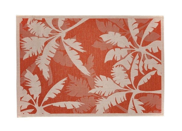 Matto PALMS ORANGE 160x230 cm A5-130783