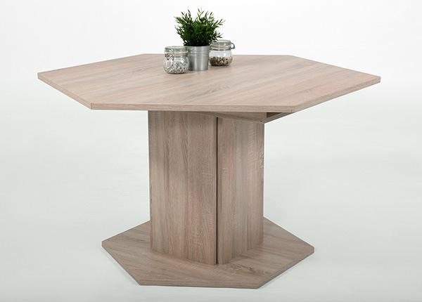 Jatkettava ruokapöytä MARTINA 121-161x121 cm SM-130830