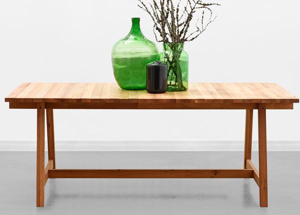 Ruokapöytä WOODEN BEAMS 198x100 cm MA-130909