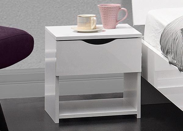 Yöpöytä LETTY WHITE MA-130914