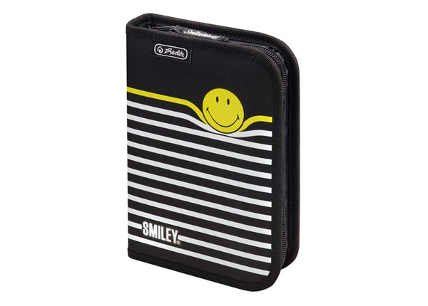 Täytetty penaali HERLITZ SMILEYWORLD BLACK STRIPES BB-130931