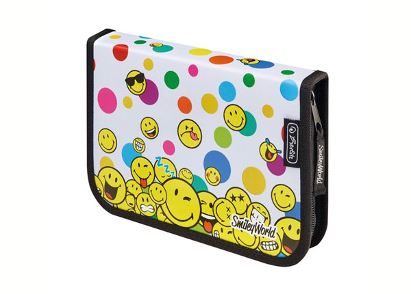 Täytetty penaali HERLITZ SMILEYWORLD RAINBOW FACES BB-130934