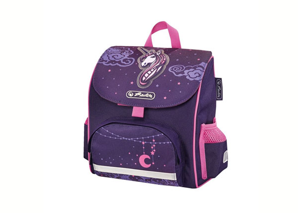Selkäreppu HERLITZ MINI SOFTBAG UNICORN NIGHT BB-130984