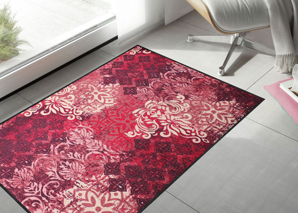 Matto OVERLAYING ORNAMENT RED CHIC 75x120 cm A5-131028