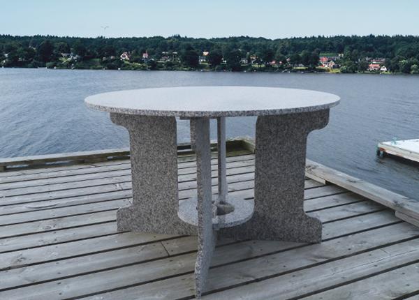 Graniitti puutarhapöytä AV-131247
