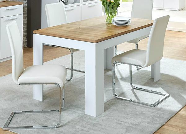 Jatkettava ruokapöytä VIBORG 8 90x140-180 cm SM-131410