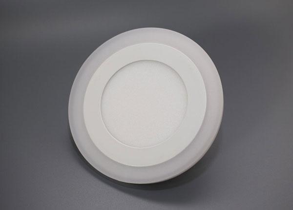 Upotettava paneelivalaisin 3+3 W, Ø10,5 cm EW-131686