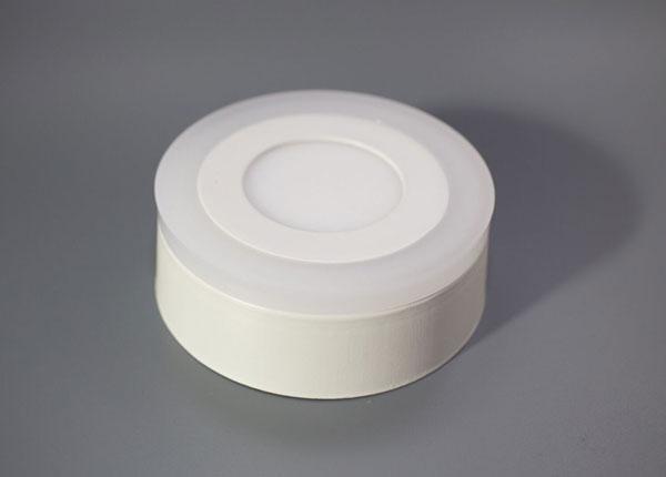 Pintapuolinen paneelivalaisin 3+3 W, Ø10,5 cm EW-131801