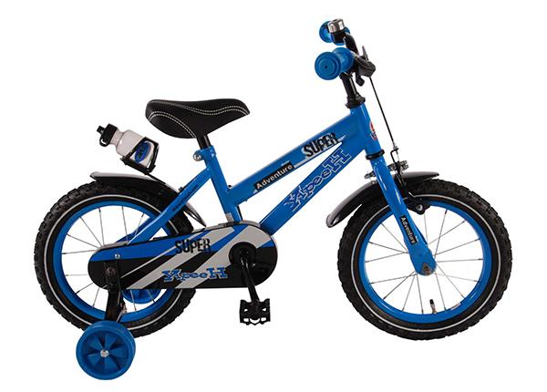 """Poikien polkupyörä YLIPEEH SUPER BLUE 14"""" TC-132038"""
