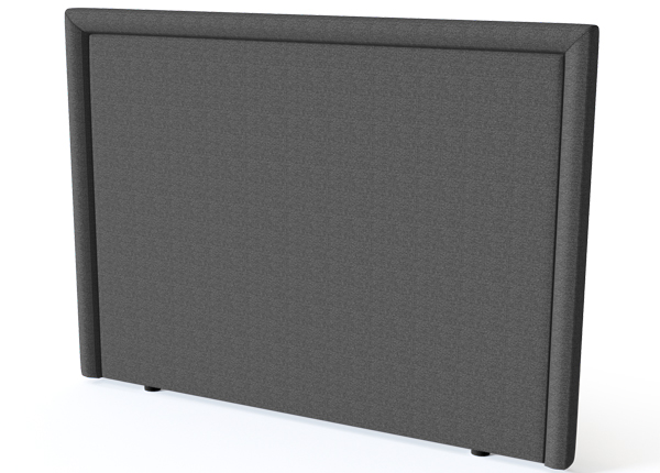 SLEEPWELL sängynpääty LINED BLACK 120 cm SW-132144