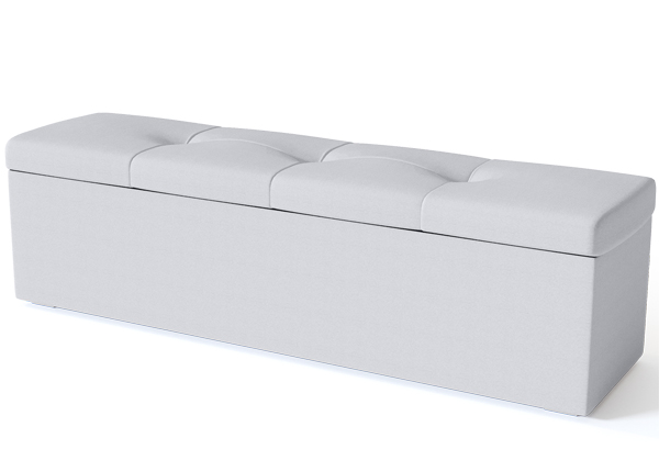 SLEEPWELL vuodevaatelaatikko BLACK ULVASEN 180 cm SW-132173