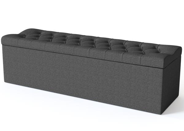 SLEEPWELL vuodevaatelaatikko SOLHALL 120 cm SW-132174