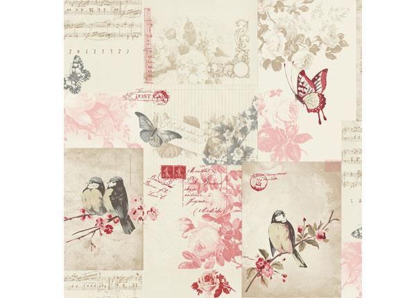 Paperitapetti SONGBIRD MW-132497