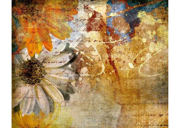 Fleece kuvatapetti VINTAGE FLOWERS 360x270 cm ED-132624