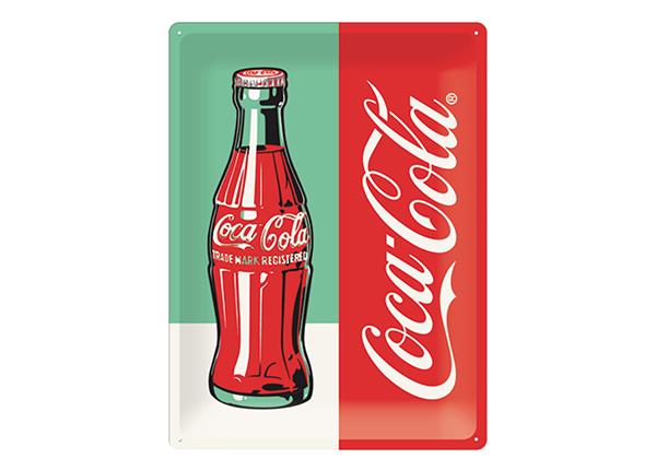 Retro metallijuliste COCA-COLA POP ART PUDEL 30x40 cm SG-132731