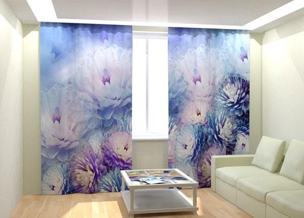 Kuvaverhot TENDER BLUE FLOWER 300x260 cm AÄ-133044