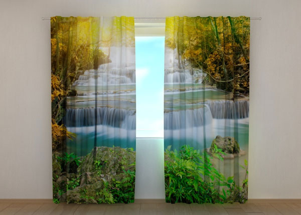 Pimennysverho AUTUMN WATERFALL 240x220 cm ED-133743