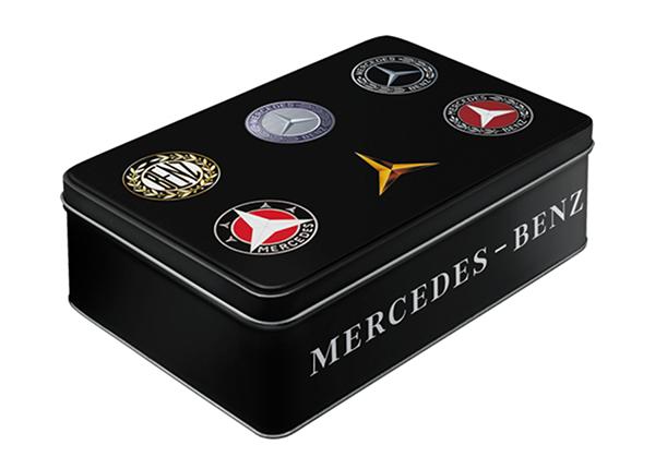 Peltipurkki 3D MERCEDES-BENZ LOGOT 2,5L SG-133825