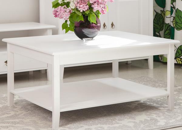 Sohvapöytä, mänty 95x75 cm