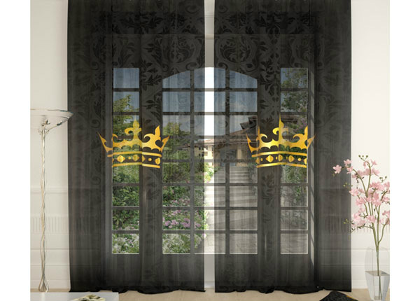 Tylliverhot THE CROWN 290x260 cm AÄ-134076