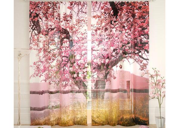 Tylliverhot PINK TREE 290x260 cm AÄ-134108