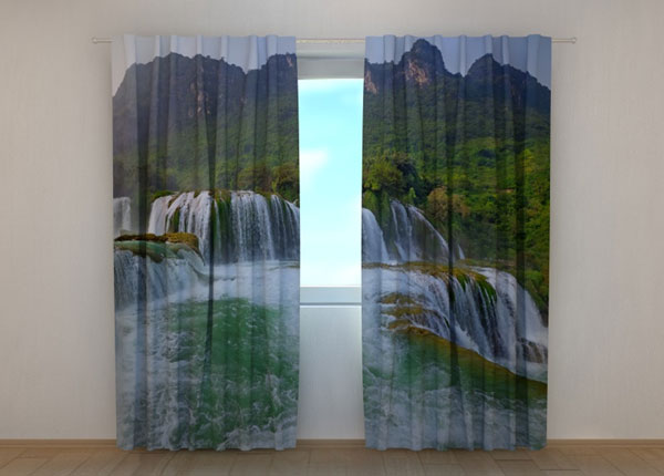 Pimennysverho BIG WATERFALL 240x220 cm ED-134192