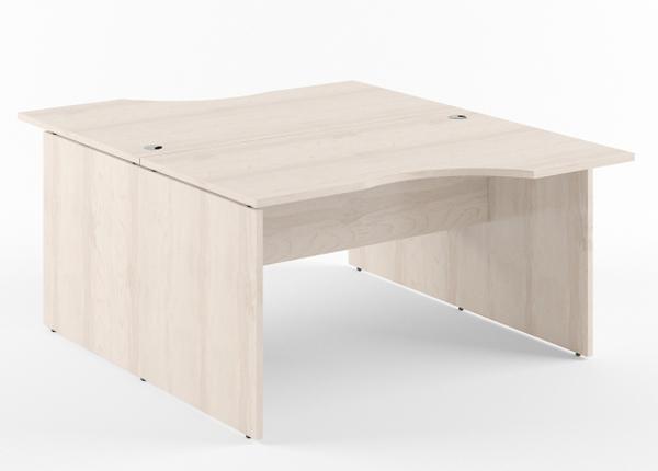 Työpöytä 2-kohtainen XTEN 160 cm KB-134522