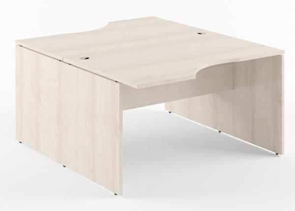 Työpöytä 2-kohtainen XTEN 160 cm KB-134524