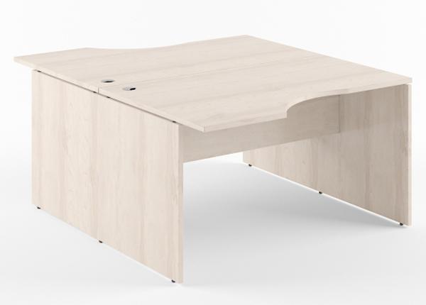 Työpöytä 2-kohtainen XTEN 160 cm KB-134526