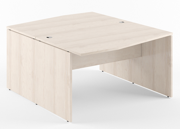 Työpöytä 2-kohtainen XTEN 160 cm KB-134530