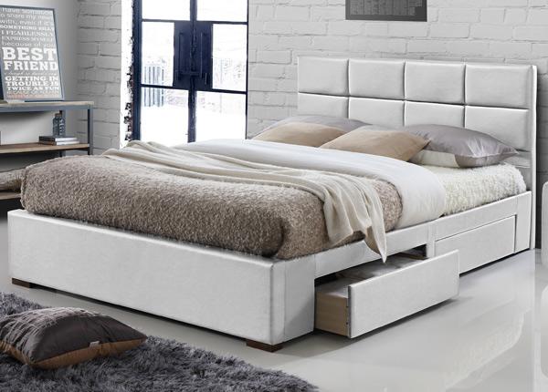 Sänky laatikoilla 140x200 cm