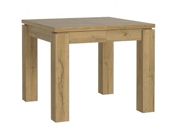 Jatkettava ruokapöytä 90-180x90 cm