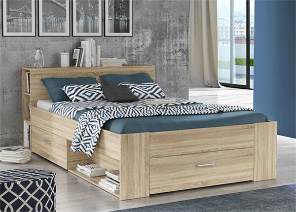 Sänky vuodevaatelaatikoilla 140x200 cm TF-135383