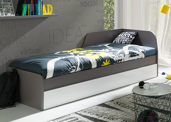 Sänky vuodevaatelaatikoilla 80x200 cm TF-135708