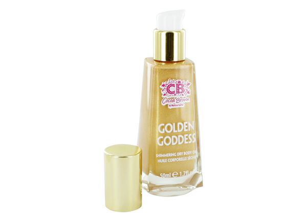 Kiiltoa antava ihoöljy GOLDEN GODDESS 50 ml SP-135855