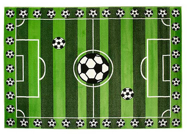 Lastenhuoneen matto JALKAPALLO 120x170 cm AA-136750